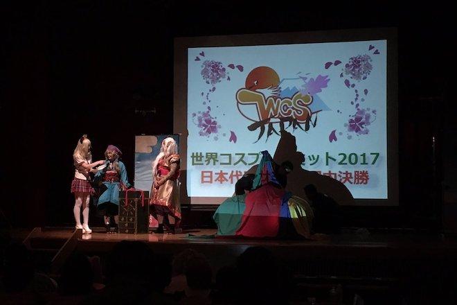 優勝したのは東京予選代表の万鯉子さんとマヒオさんによるチーム琉演(リュウエン)。アニメーション作品「怪 〜ayakashi〜 」(モノノ怪) を演じました。