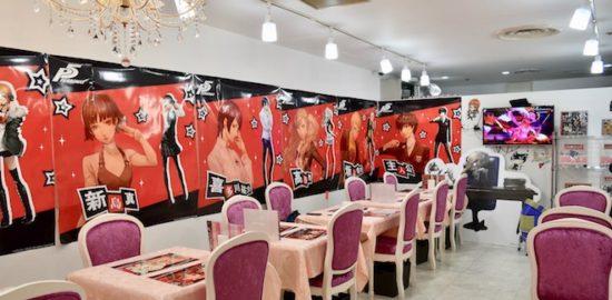 2017年6月29日(木)まで福岡県の天神コア地下2階にあるプリンセスカフェ福岡1号館で、『ペルソナ5』×『プリンセスカフェ福岡』コラボカフェが開催されます。