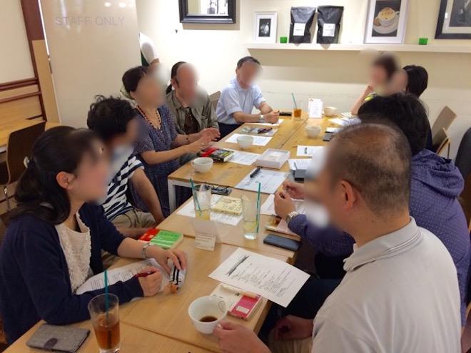 福岡文化系読書会がロバーツコーヒー大名店で開催
