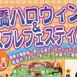 2017年11月3日(金・祝)に福岡県の西鉄大橋駅西口広場で「大橋ハロウィン&コスプレフェスティバル2017」を開催します。