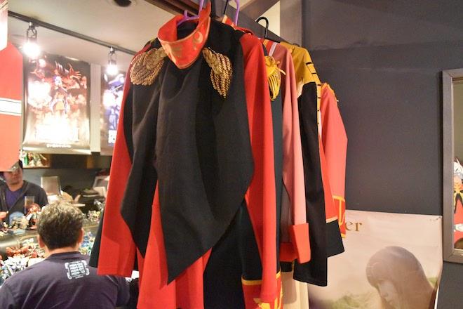 ガンダムバー・ソロモンにあるコスプレ衣装