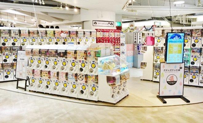 2018年3月10日(土)に福岡県のキャナルシティ博多で「ガチャガチャの森キャナルシティ博多店」がリニューアルオープンします。