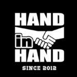 HAND in HAND(ハンドインハンド)は2012年11月11日に発足。福岡県の天神にあるビブレホールを中心に活動しているガールズイベント企画グループです。「手を取り合って」一緒に成長していくという意味が込められています。