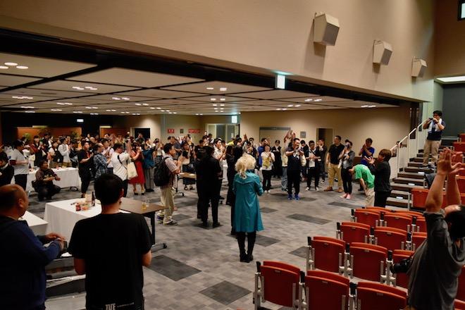 2018年10月7日(日)に福岡県のパピヨン24ガスホールで「れとろげ!Ⅳ ~時代を超えた物語~」が開催されました。打ち上げで主催のもみーさんが挨拶