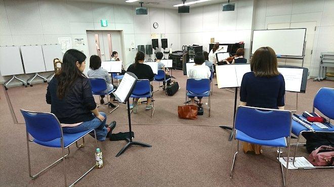 2018年6月2日(土)に筑紫野市生涯学習センターでアトラース・フィル第2回定期演奏会の演奏担当メンバーで練習が行われました。