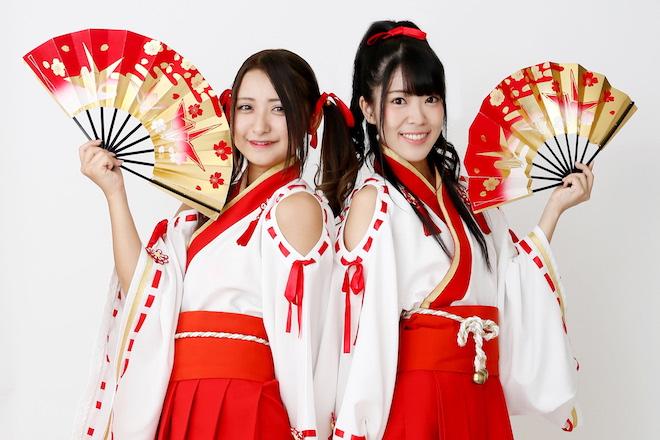 ふくおか官兵衛Girlsが福岡城和装フェスティバル2019に出演