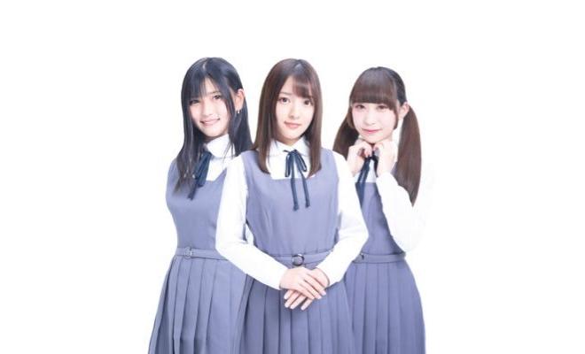ルナリウムは2018年7月にデビューした福岡を拠点に活動する正統派アイドルグループです。夜空に輝く月のようにあなたを照らしたい。吉本一椛、白川琳花、桐原未来