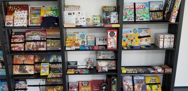 ガルボードにあるボードゲームの一覧です。ガルボードは福岡県大牟田市では初となるボードゲームカフェです。