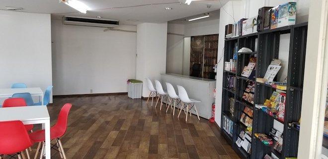 ガルボードは福岡県大牟田市のボードゲームカフェです。店内の様子です。