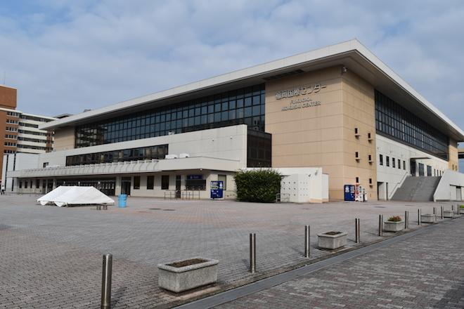 福岡国際センターの外観