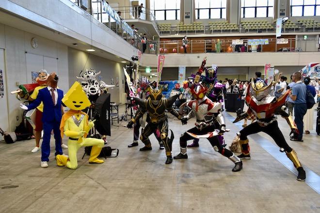 2019年8月17日(土)に福岡国際センターで「ニコニコ町会議全国ツアー2019 in 福岡市 福岡サブカルまつり」が開催されました。コスプレイヤーの皆さんです。