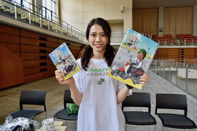 2019年8月17日(土)に福岡国際センターで「ニコニコ町会議全国ツアー2019 in 福岡市 福岡サブカルまつり」が開催されました。出川哲朗の充電させてもらえませんか?グッズコーナーの様子です。