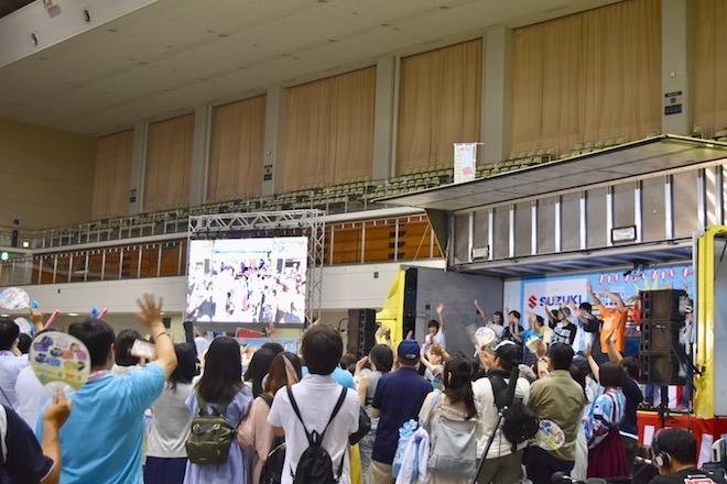 2019年8月17日(土)に福岡国際センターで「ニコニコ町会議全国ツアー2019 in 福岡市 福岡サブカルまつり」が開催されました。エンディングの様子です。