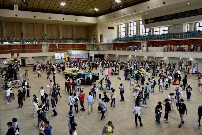 2019年8月17日(土)に福岡国際センターで「ニコニコ町会議全国ツアー2019 in 福岡市 福岡サブカルまつり」が開催されました。12時の様子です。