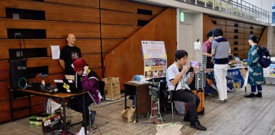 2019年8月17日(土)に福岡国際センターで「ニコニコ町会議全国ツアー2019 in 福岡市 福岡サブカルまつり」が開催されました。町まるなげひろば、ストリートの様子です。