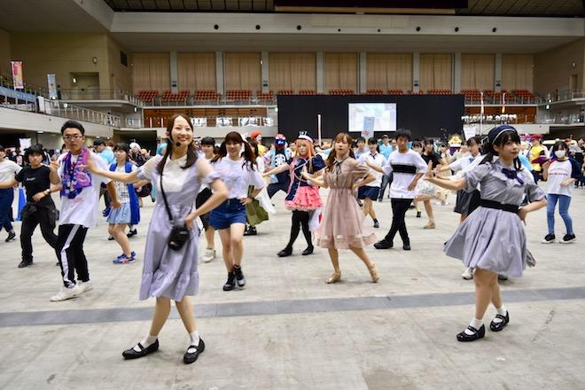 2019年8月17日(土)に福岡国際センターで「ニコニコ町会議全国ツアー2019 in 福岡市 福岡サブカルまつり」が開催されました。みんなで踊ってみたの様子です。