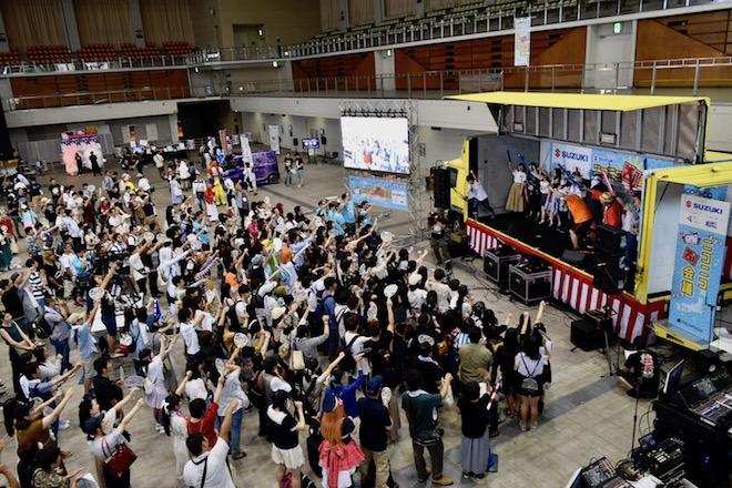 2019年8月17日(土)に福岡国際センターで「ニコニコ町会議全国ツアー2019 in 福岡市 福岡サブカルまつり」が開催されました。オープニングの様子です。