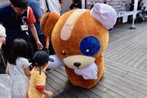 2019年9月1日(日)に熊本市のnamcoワンダーシティ南熊本店でガルパンの声優トークショーが開催。子ども達に大人気のマスコットキャラ「ボコ」