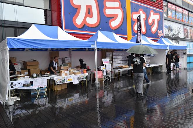 2019年9月1日(日)に熊本市のnamcoワンダーシティ南熊本店でガルパンの声優トークショーが開催。会場へ大洗まいわい市場が遥々訪れました。