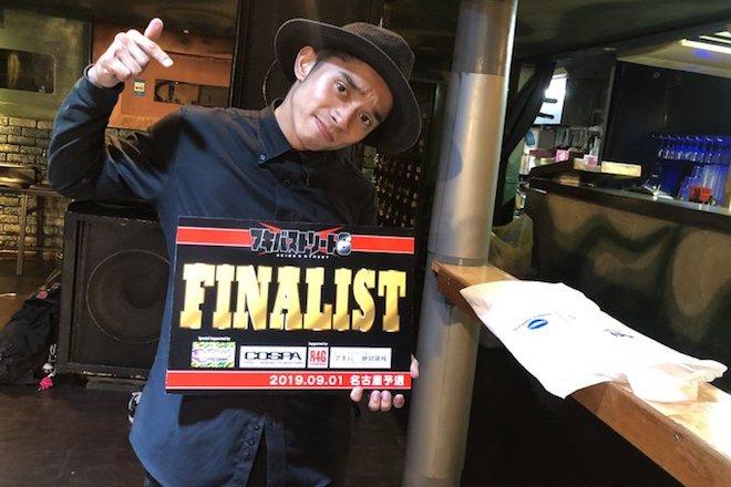 2019年9月1日に開催されたアニソンダンスバトル全国大会「アキバ×ストリート6」名古屋予選の優勝者「HIDE」さん