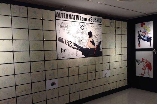 2019年10月25日(金)から11月10日(日)まで、福岡市中央区天神にある福岡PARCOの8Fで、ガイナックスやトリガー作品などのイラストを展示した「すしお万博」(SUSHIO EXPO)が開催されます。