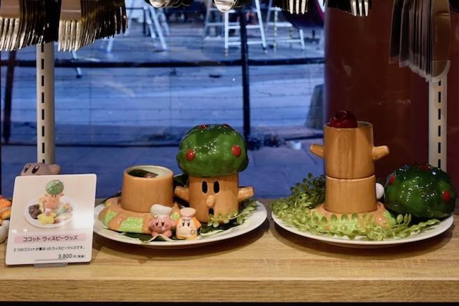 福岡市博多区のキャナルシティ博多にある「カービィカフェ博多」。第2章は2019年11月14日(木)から2020年2月24日(月)まで開催。ココット ウィスピーウッズ