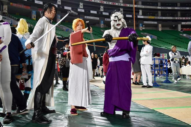 2019年11月4日(月・祝)に福岡市中央区の福岡 ヤフオク!ドームでオールジャンル同人誌即売会「CC福岡50」が開催されました。るろうに剣心のコスプレイヤーです。