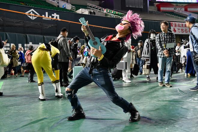 2019年11月4日(月・祝)に福岡市中央区の福岡 ヤフオク!ドームでオールジャンル同人誌即売会「CC福岡50」が開催されました。タラタラしてんじゃねーよのコスプレイヤーです。
