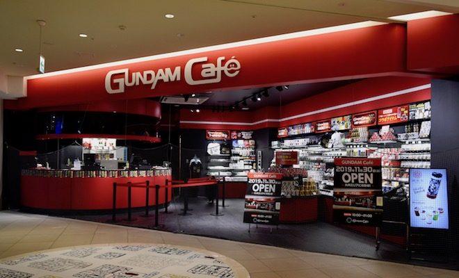 2019年11月30日(土)10:00に福岡市博多区のキャナルシティ博多サウスビル1階で「ガンダムカフェ福岡」がグランドオープンします。