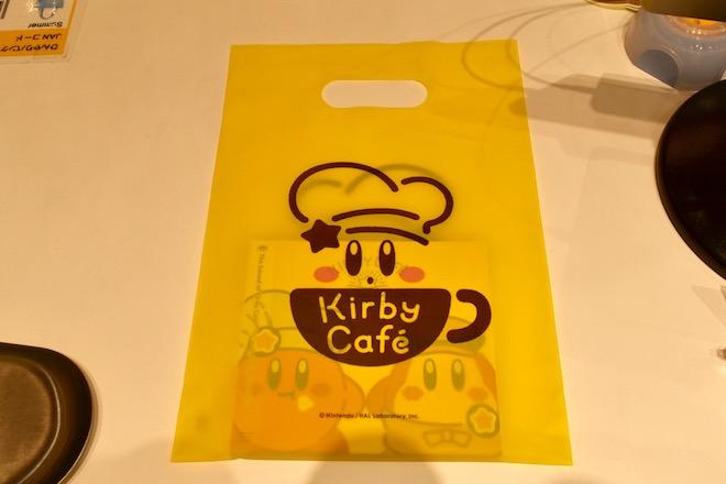 カービィカフェ博多のレジ袋