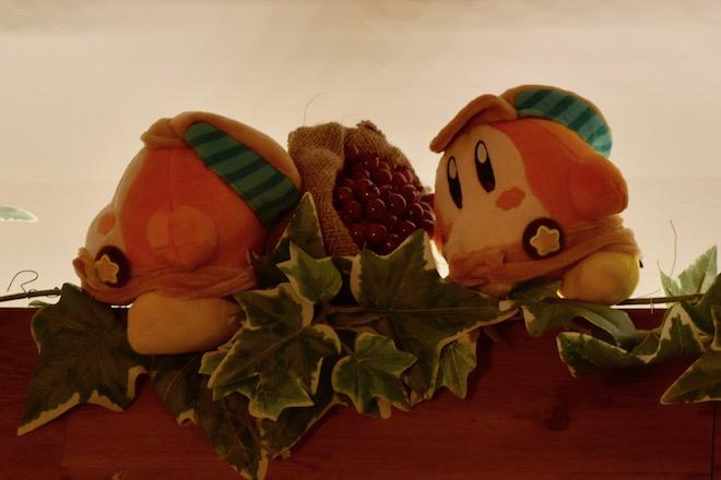 福岡市博多区のキャナルシティ博多にある「カービィカフェ博多」。第2章は2019年11月14日(木)から2020年2月24日(月)まで開催。コーヒーチェリーを運ぶワドルディ