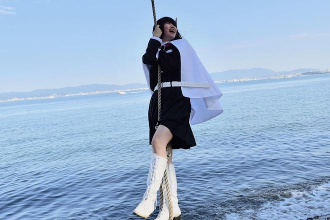 2019年11月16日(土)に福岡市西区の能古島キャンプ村・海水浴場でサブカルチャー複合イベント「のこのしまオタフェスト」が開催されました。水上ブランコ