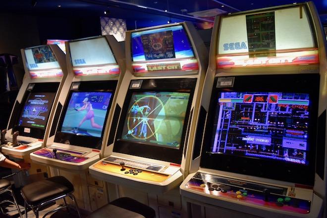 2019年11月1日(金)に福岡市中央区天神にゲームセンター「セガ福岡天神」がオープンしました。3Fのレトロゲームの様子です。