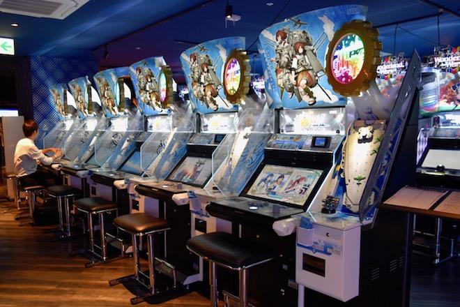 2019年11月1日(金)に福岡市中央区天神にゲームセンター「セガ福岡天神」がオープンしました。3Fのビデオゲーム・艦隊コレクションの様子です。