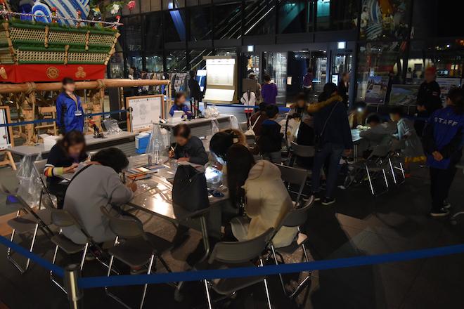 2019年11月23日(土・祝)に福岡県太宰府市の九州国立博物館で、特別展「三国志」関連イベント「夜な夜な三国志」が開催されました。夜なべでMY缶バッジの様子です。
