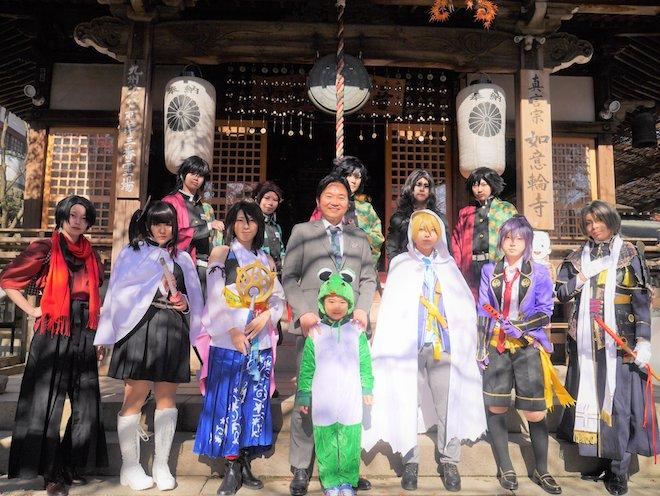 2019年12月7日(土)に福岡県小郡市の如意輪寺でコスプレイベント「寺プレ in 小郡」が開催されました。