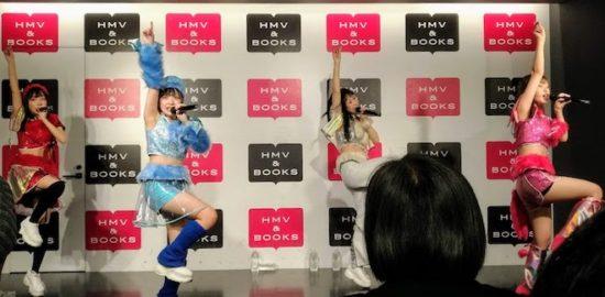 2020年1月10日(金)に福岡県博多区のHMV&BOOKS HAKATAで、女性アイドルグループ「クマリデパート」の楽曲『極LOVE浄土』発売リリース記念イベントが開催されました。
