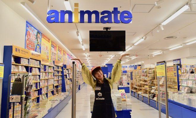 2020年3月28日(土)に福岡PARCO 本館8Fで「アニメイト福岡パルコ」がグランドオープンします。HKT48の田島芽瑠さんが登場