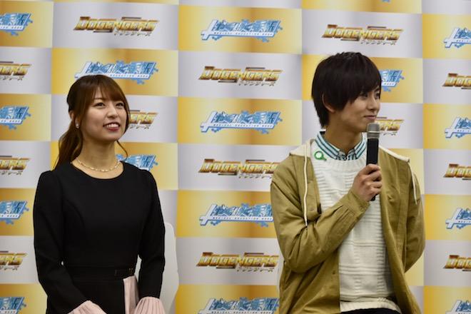 2020年3月30日(月)に福岡市の大賀博多駅前ビルで「ドゲンジャーズ 放映前公式記者会見」が開催されました。正木郁、桃咲まゆ
