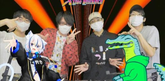 2020年5月6日(水・祝)に オンラインダンスミュージックイベント 「音Line_DistANCE」 がアキバ文化の支援を目的に制作されたスタジオ「akiba T studio」より配信された。