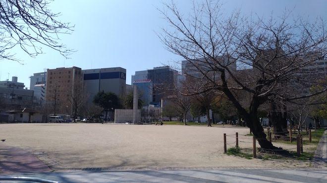 2020年3月の福岡市・冷泉公園