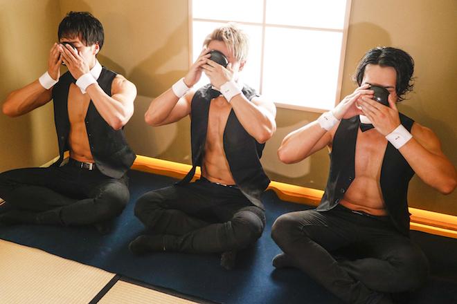 2020年8月9日(土)に東京都文京区にある、四畳半のお茶室・游鹿庵(ゆうろくあん)で「筋肉茶会 〜マッチョとまっちゃ〜」が開催されました。