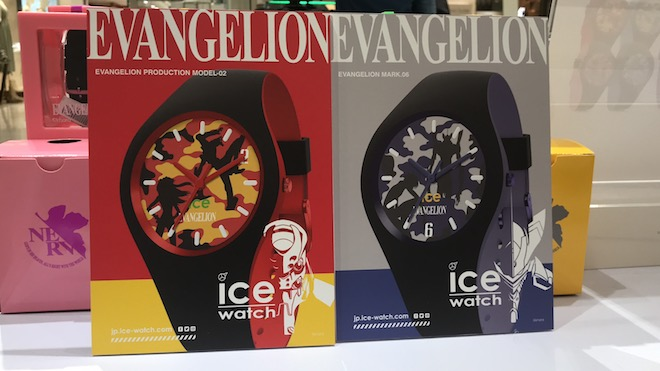 2020年2月3日(水)〜2月14日(日)の期間、福岡市の博多阪急3階ステージ3で、アニメ『エヴァンゲリオン』とベルギー発のブランド「アイスウォッチ」による限定コラボの腕時計が販売されます。