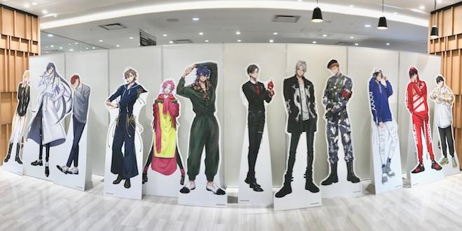 2021年3月5日(金)~3月21日(日)の期間、福岡市の博多マルイ 5F イベントスペースで「ヒプノシスマイク-Division Rap Battle-」が開催