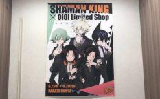福岡市の博多マルイ5Fイベントスペースで「SHAMAN KING Limited Shop × OIOI」が開催