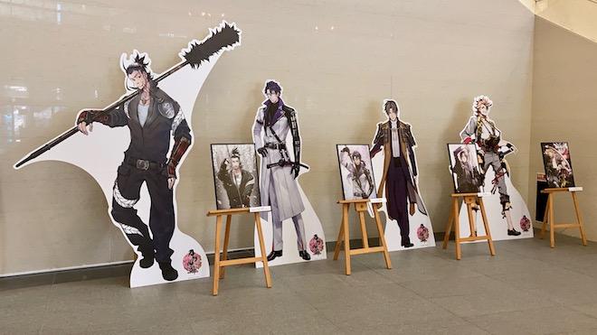 福岡ゆかりの刀剣男士がパネル展示