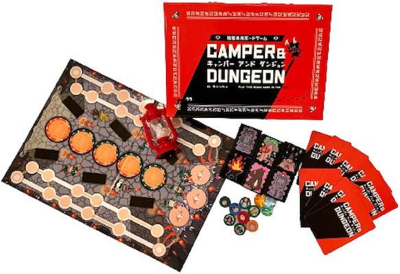 暗闇専用ボードゲーム「キャンパーアンドダンジョン」