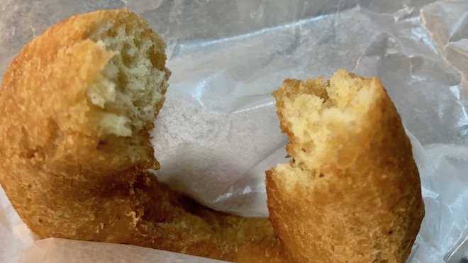 フロレスタ藤崎店で『ぼのぼの コラボドーナツ』を食べました