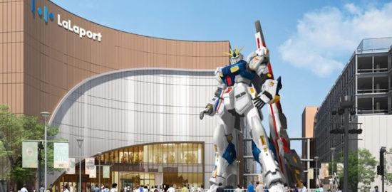 三井ショッピングパーク ららぽーと福岡に、「実物大ν(ニュー)ガンダム」が誕生することが決定