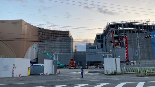 建設中の「ららぽーと福岡」